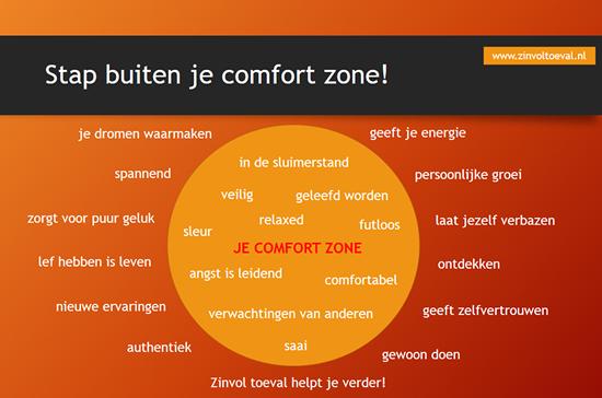 buiten je comfort zone