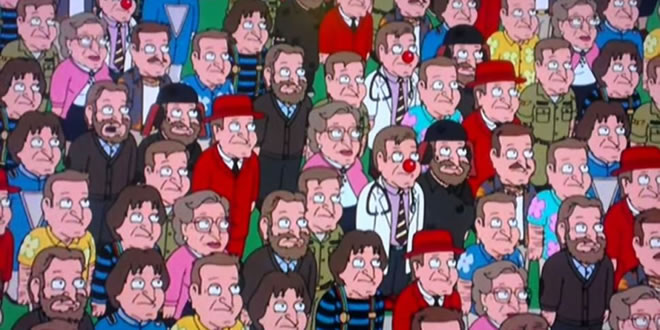 Robin Williams en Family Guy
