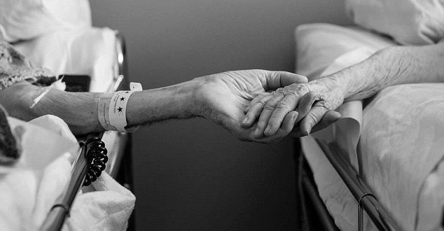 Echtpaar sterft samen na 64 jaar
