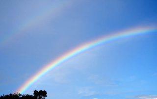 regenboog, zinvol toeval